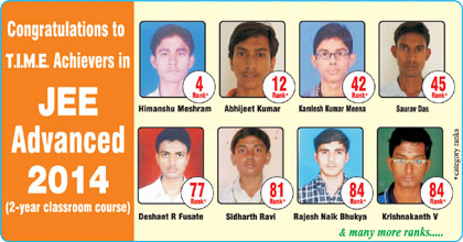 JEE - Congratulations-to--T.I.M.E students