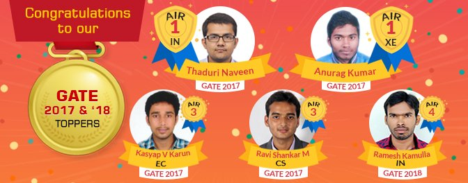 GATE2017-Toppers
