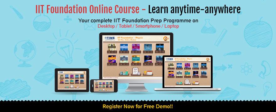 IIT-Foundation Online Course